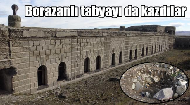 Defineciler Karadağ Tabya girişini kazdı
