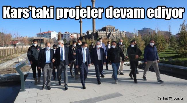 Kars'taki projeler devam ediyor
