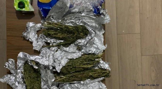 Malatya'da cips paketi ve meyve suyu kutusuna gizlenmiş uyuşturucu ele geçirildi