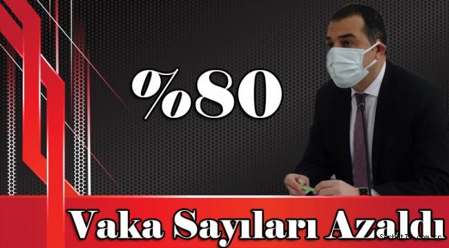 Kars'ta vaka sayıları %80 oranında azaldı