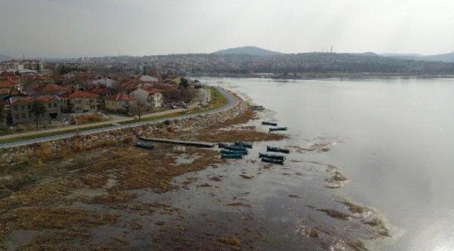 Son dakika haberleri: 'Suyu 50 metre çekilen Beyşehir Gölü ağlıyor'