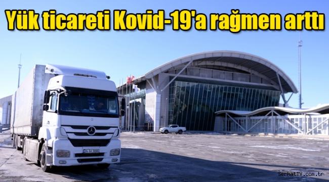 Yük ticareti Kovid-19'a rağmen arttı