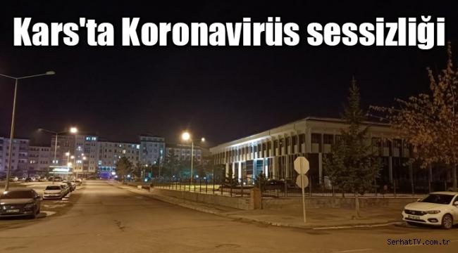 Kars'ta Koronavirüs sessizliği