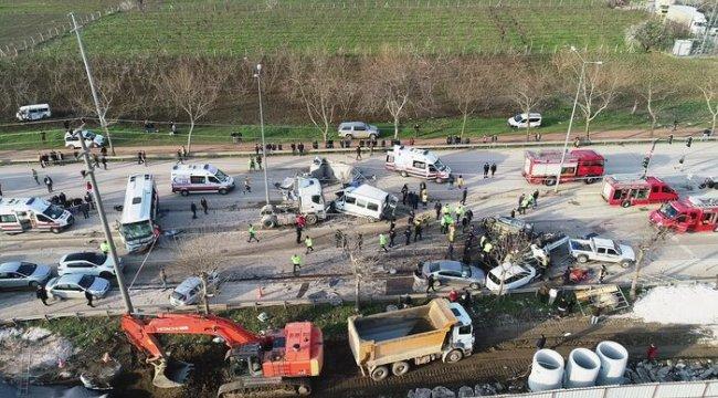 Bursa'da 4 kişinin ölümüne neden olan tır şoförünün ifadesi ortaya çıktı