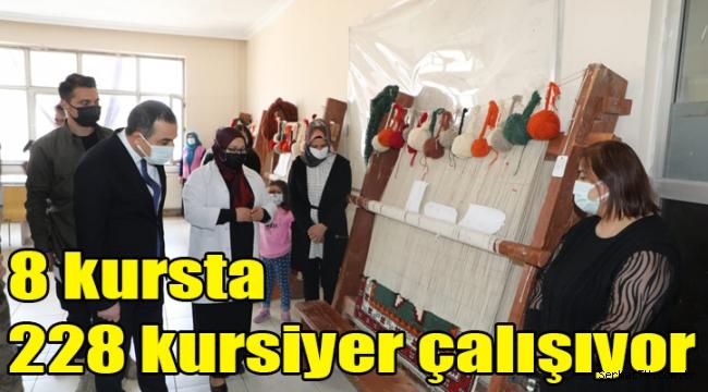 Kars Belediyesi 8 farklı kurs açtı!