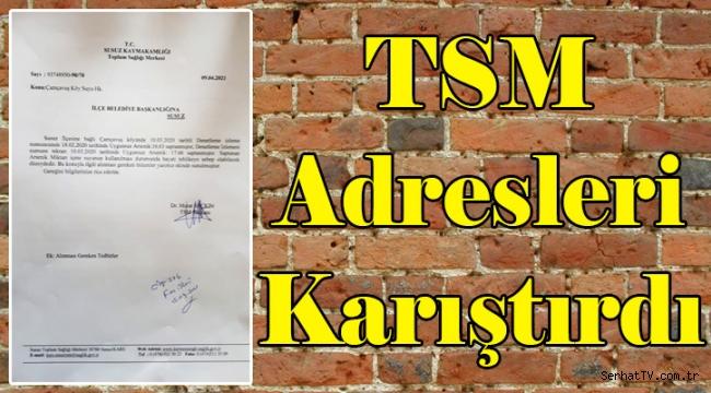 Kars'ta TSM adresleri karıştırdı