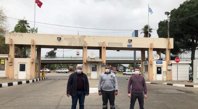 Manisa Büyükşehir Zabıtası, ilçelerdeki güvenlik personellerini ziyaret