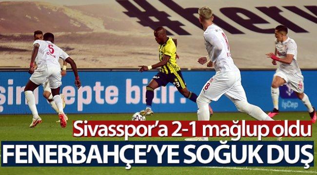 ÖZET İZLE  Fenerbahçe 1-2 Sivasspor Maç Özeti ve Golleri İzle