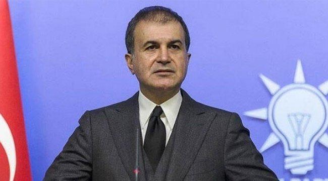 Son dakika haberleri: AK Parti Sözcüsü Çelik: Cumhurbaşkanımız tüm toplulukların barışı için mücadele etmektedir