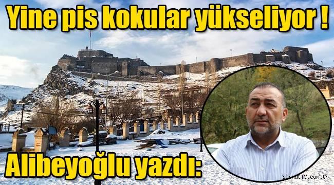 """Alibeyoğlu yazdı: """"Yine pis kokular yükseliyor !"""""""