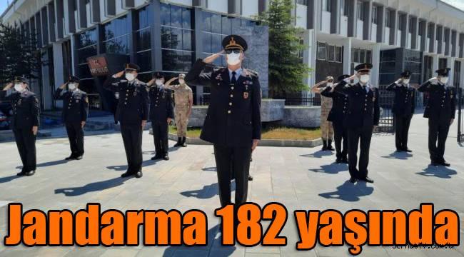 Jandarma 182 yaşında
