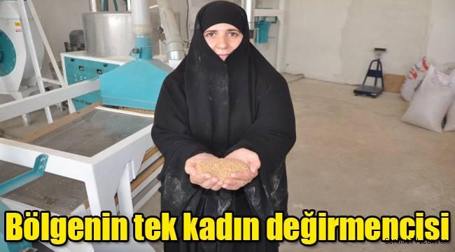 Kars bölgesinin tek kadın değirmencisi