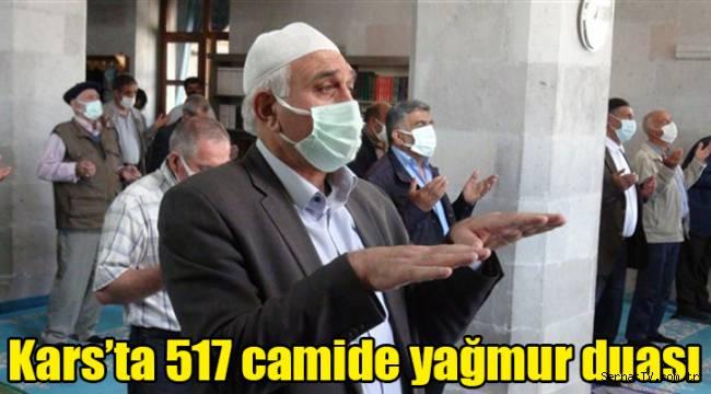Kars'ta 517 camide yağmur duası