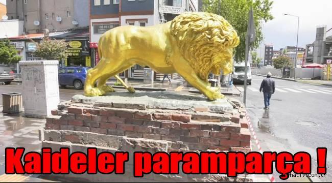 Kars'ta heykellerin bakımsızlığı düşündürüyor !
