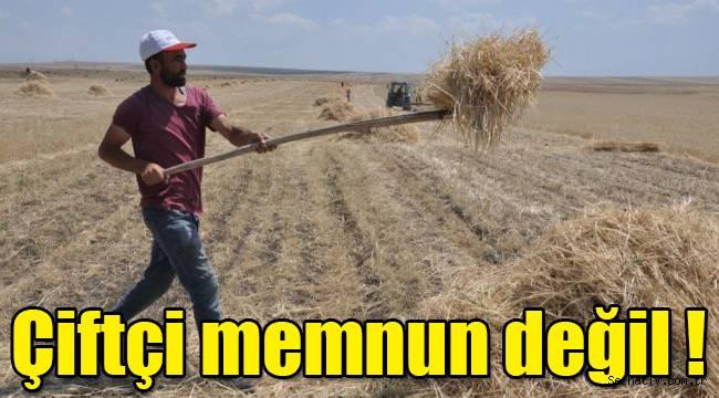 Kars'ta çiftçi memnun değil !