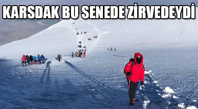 KARSDAK BU SENEDE ZİRVEDEYDİ