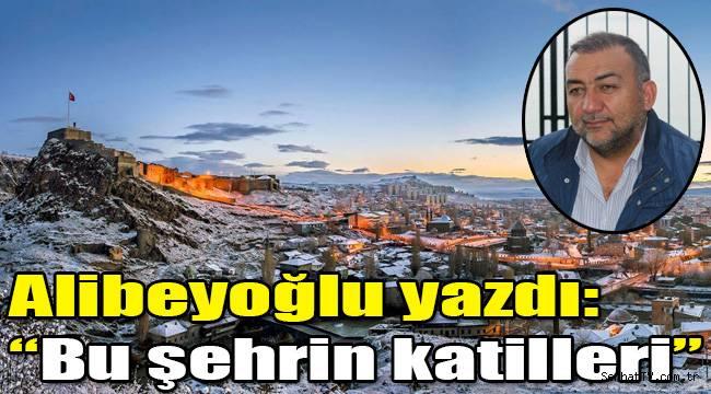 """Alibeyoğlu yazdı: """"Bu şehrin katilleri"""""""