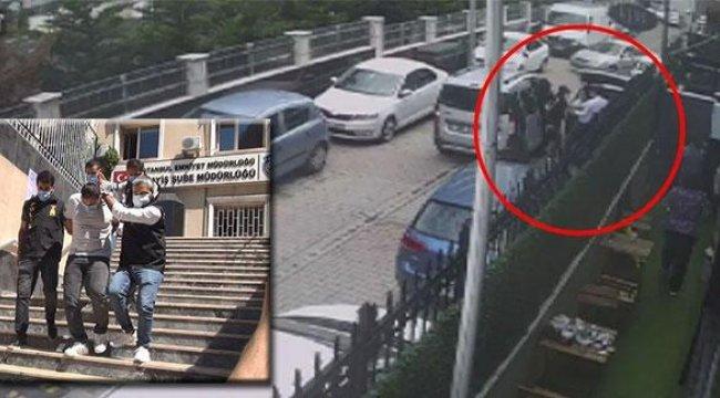 Milyonluk gasp dehşetinde tetikçi olduğu belirlenen şüpheli tutuklandı