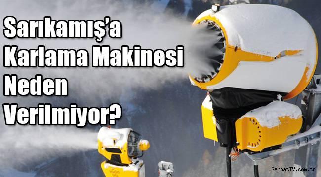 Sarıkamış'a Karlama Makinesi Neden Verilmiyor?