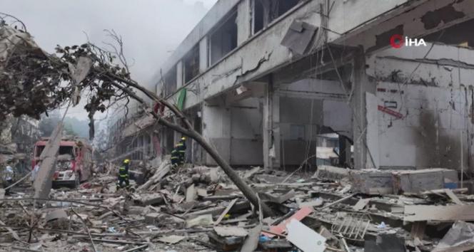 Çin'deki gaz patlamasında ölü sayısı 12'ye yükseldi