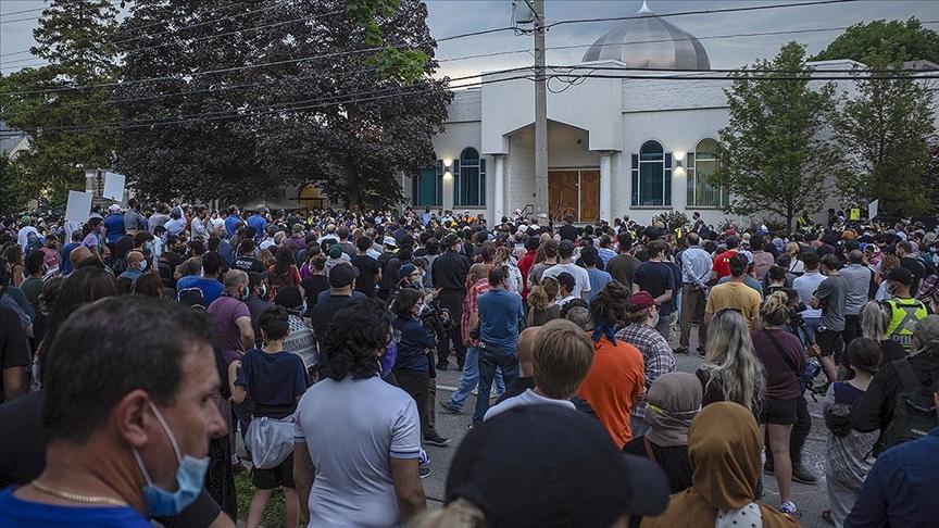 Kanada'nın London kentinde katledilen Müslüman aile için cenaze töreni düzenlendi