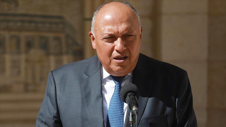 Mısır Dışişleri Bakanı Şukri: Mısır, Katar ile emektar defterleri kapatmaya çalışıyor