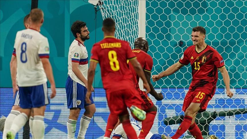 Turnuvanın ev sahiplerinden Rusya, Belçika'ya yenildi