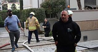 Ünlü komedyen Cem Yılmaz'ın Beşiktaş'taki evinde yangın çıktı